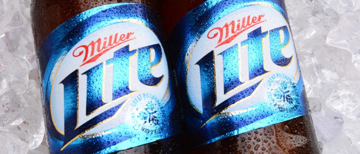Miller Lite (Credit: Shutterstock/LunaseeStudios)