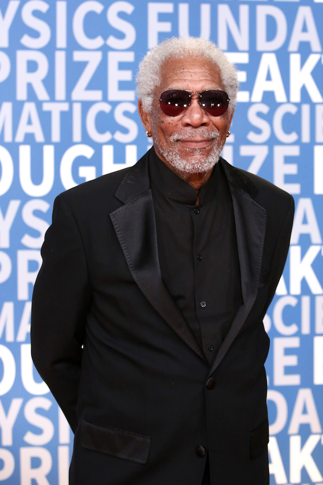 Actor Morgan Freeman attends the 2018 Breakthrough Prize at NASA Ames Research Center on December 3, 2017 in Mountain View, California. (Photo by Jesse Grant/Getty Images)