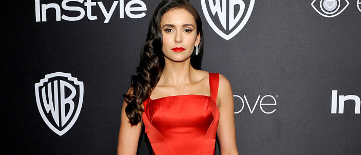 BEVERLY HILLS, CA - JANUARY 08: Actress Nina Dobrev attends The 2017 InStyle and Warner Bros. 73rd Annual Golden Globe Awards Post-Party at The Beverly Hilton Hotel on January 8, 2017 in Beverly Hills, California. (Photo by John Sciulli/Getty Images for InStyle)