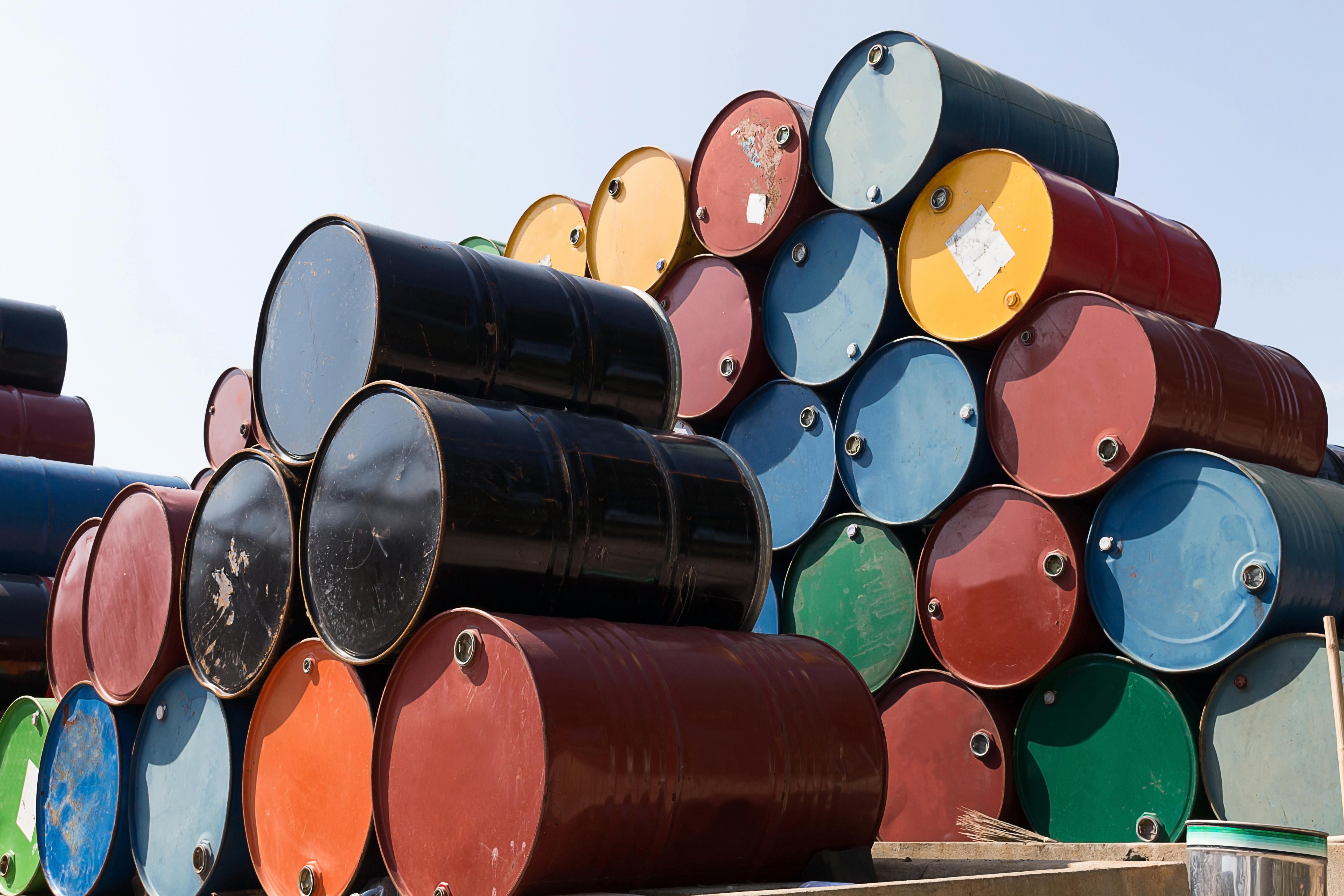 Oil Barrels. Shutterstock