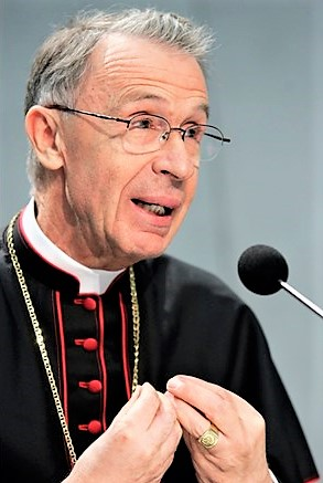 Cardinal Luis Francisco Ladaria Ferrer (José Santamaria Cruz [CC BY-SA 4.0 (https://creativecommons.org/licenses/by-sa/4.0)], from Wikimedia Commons)