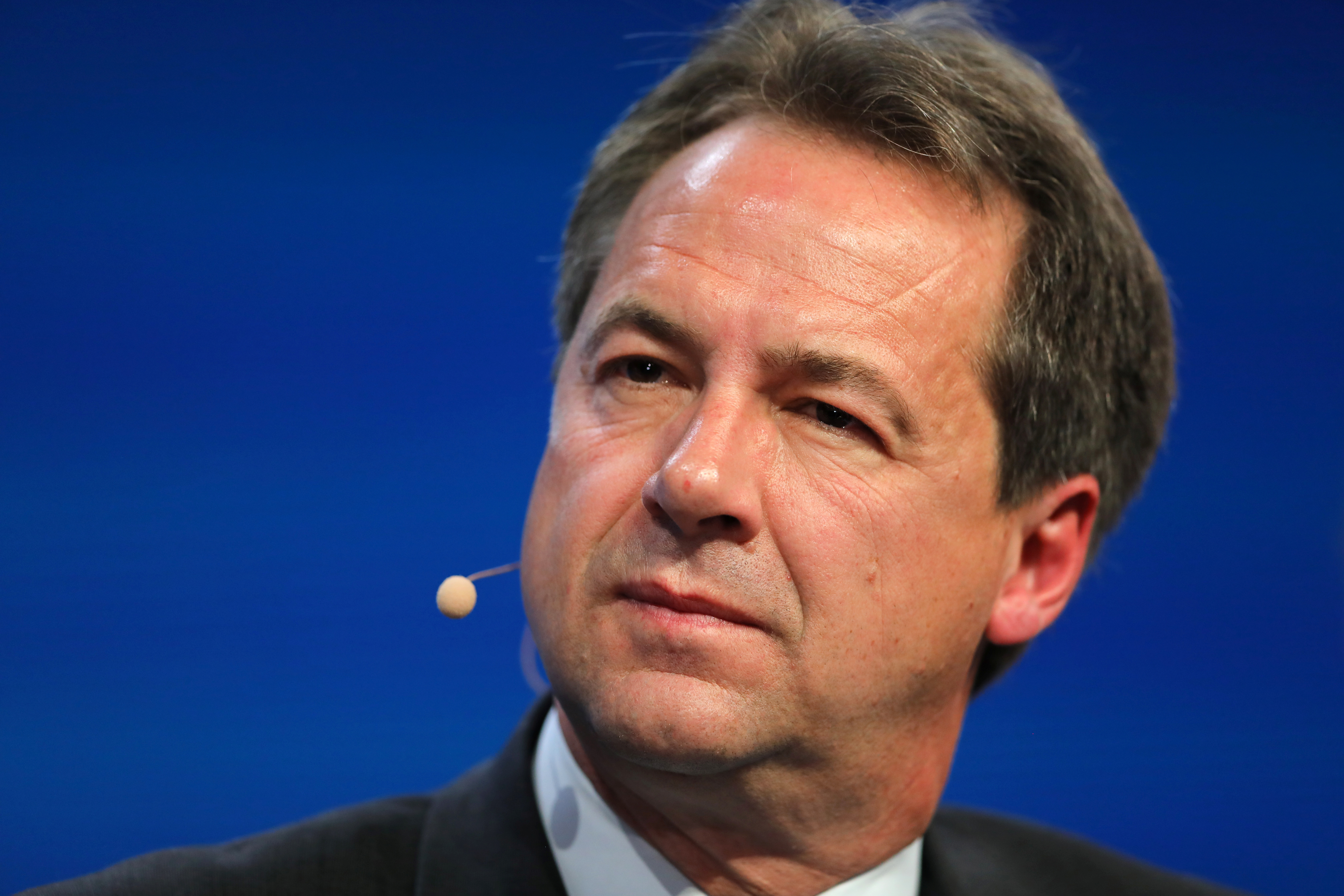 Steve Bullock, Governor of Montana, speaks during the Milken Institute Global Conference in Beverly Hills, California, U.S., May 1, 2017. REUTERS/Mike Blake