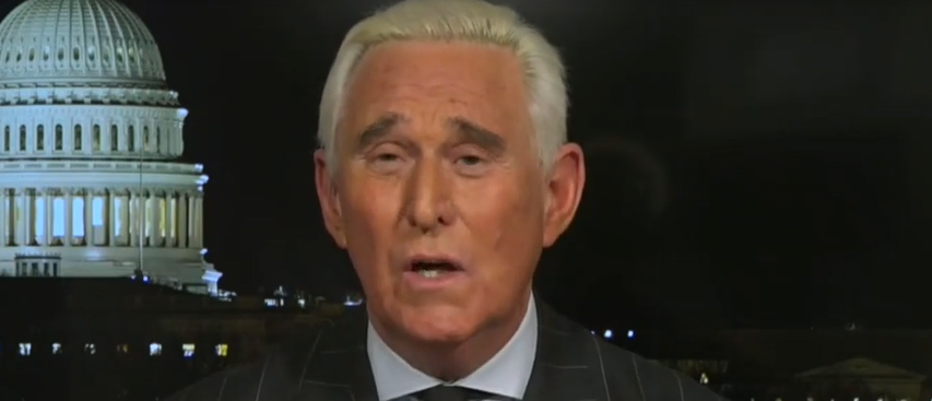 Roger Stone discusses Mueller investigation (Fox News 'Hannity' screengrab)
