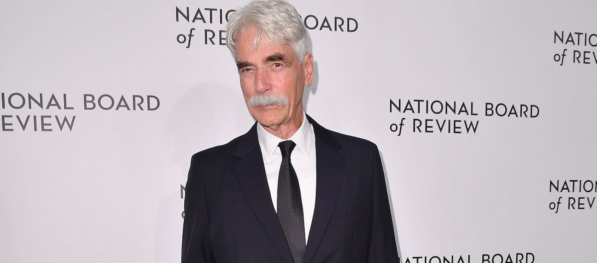Actor Sam Elliott attends the 2019 National Board Of Review Gala at Cipriani 42nd Street on January 08, 2019 in New York City. (Photo credit: ANGELA WEISS/AFP/Getty Images)