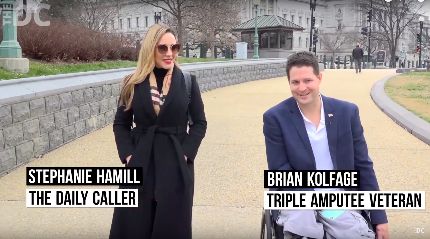 Border Wall GoFundMe Founder Goes To Pelosi's Office To Collect $1 [VIDEO]