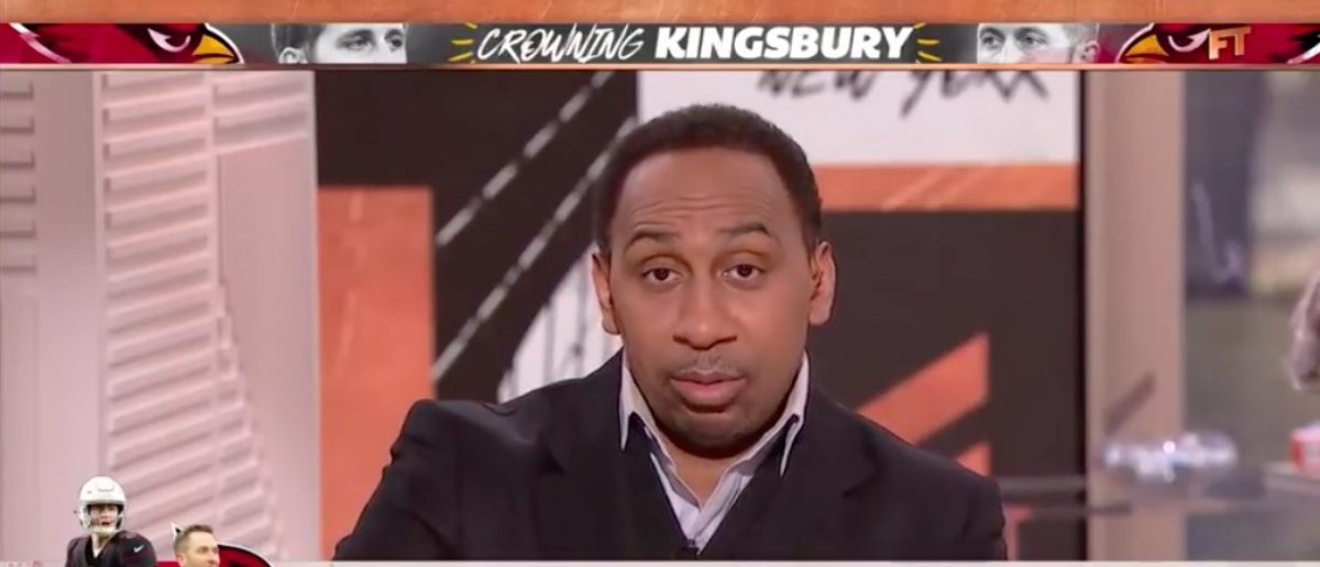 Kliff Kingsbury not as qualified as other candidates for Cardinals job - Stephen A. | First Take (YouTube Screenshot: ESPN)