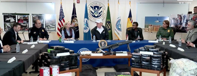 President Donald Trump and Reggie Singh. Screenshot/Youtube