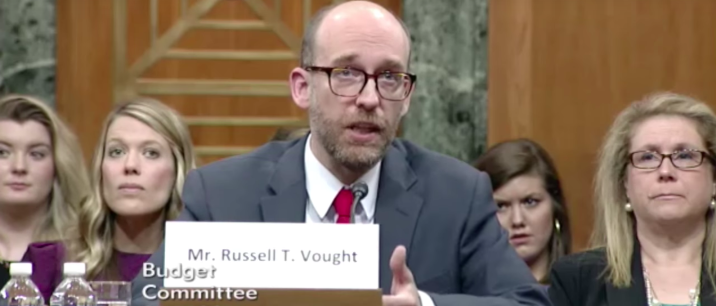 Sen. Bernie Sanders Questions OMB Deputy Director Russell Vought [YouTube/screen shot]
