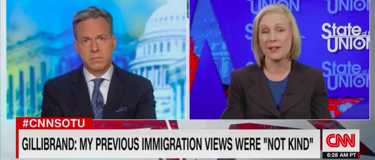 Gillibrand Doesn't Think Trump's 'Racist' Border Policies Were Racist When She Supported Them