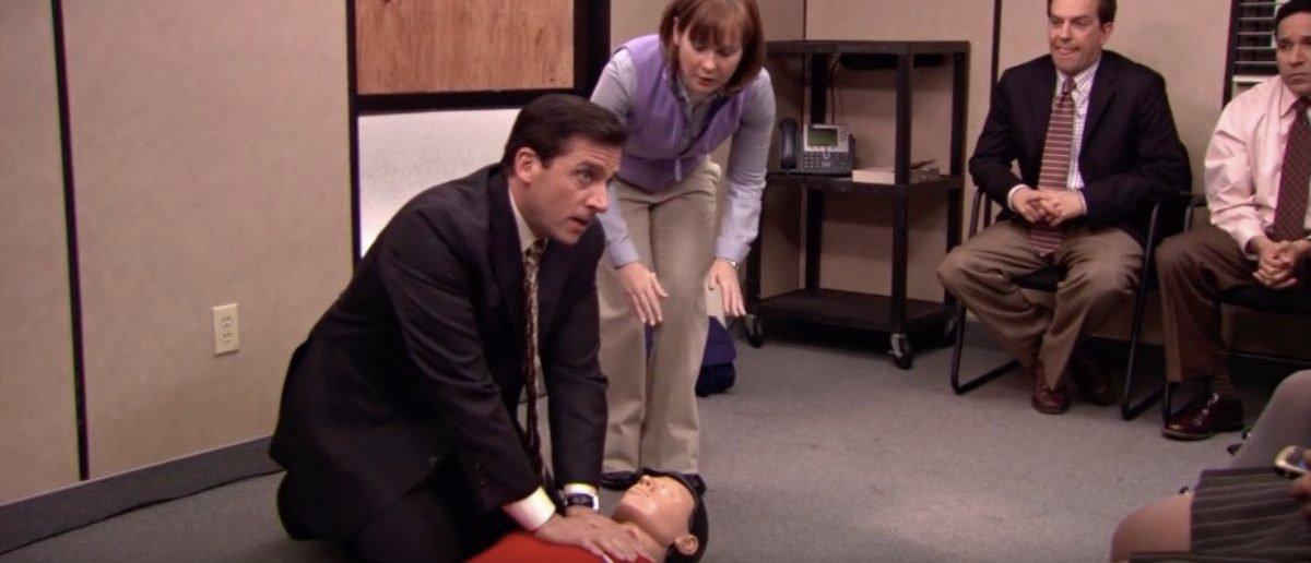First Aid Fail - The Office US (YouTube Screenshot: The Office US)