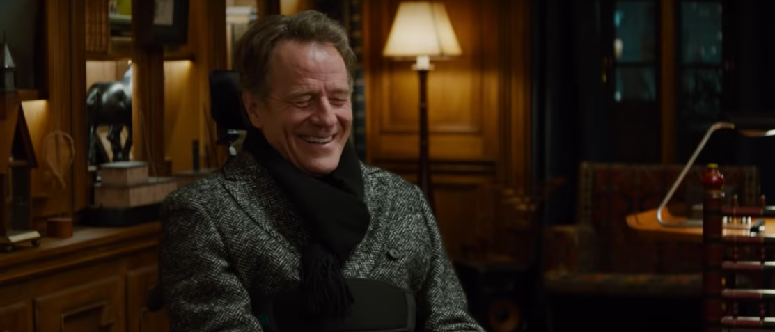 "Bryan Cranston in the trailer of ""The Upside"" (YouTube screenshot)"
