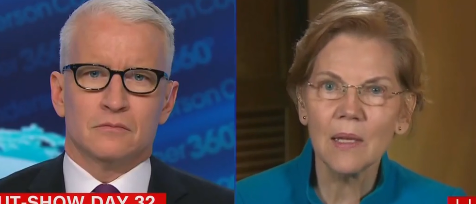 Senator Warren: 'There Are Two Coequal Branches Of Government'