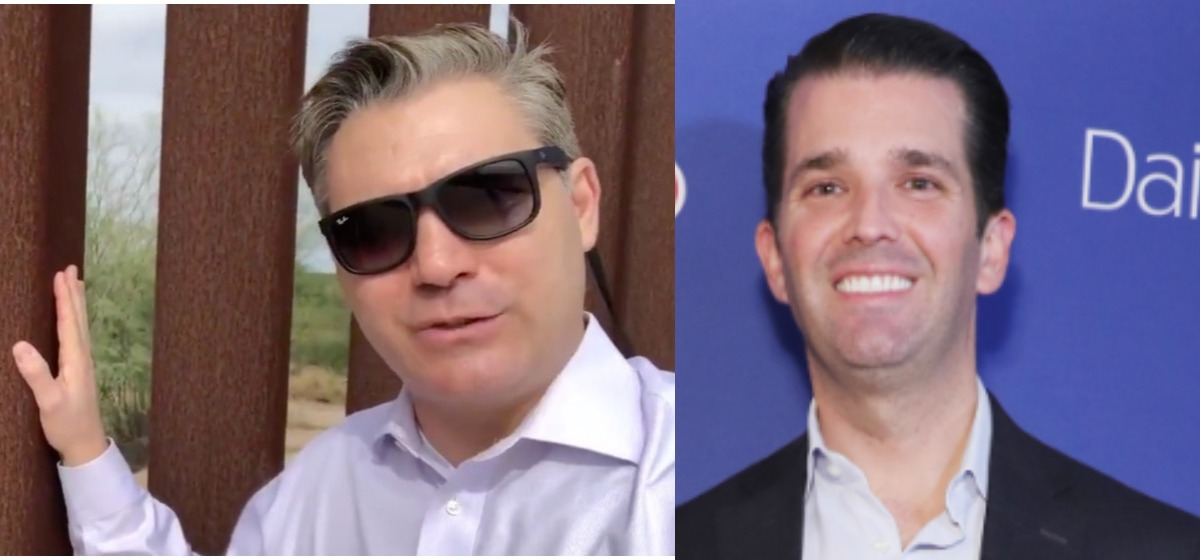 CNN's Jim Acosta Argues With Donald Trump Jr. Over Border Wall Video