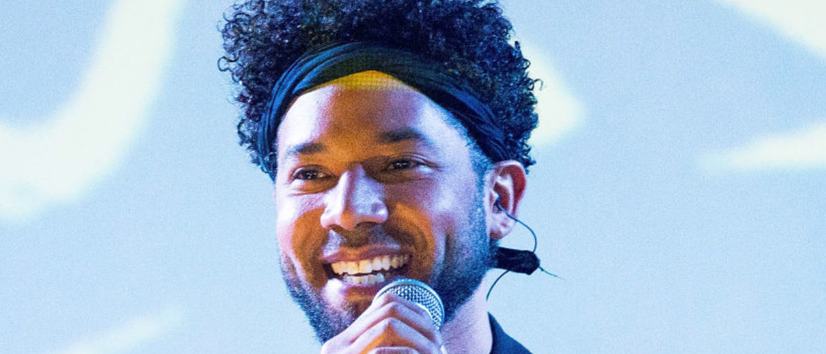 NEW YORK, NY - MAY 27: Performer Jussie Smollett performs onstage at SOB's on May 27, 2018 in New York City. (Photo by Paul Zimmerman/Getty Images)