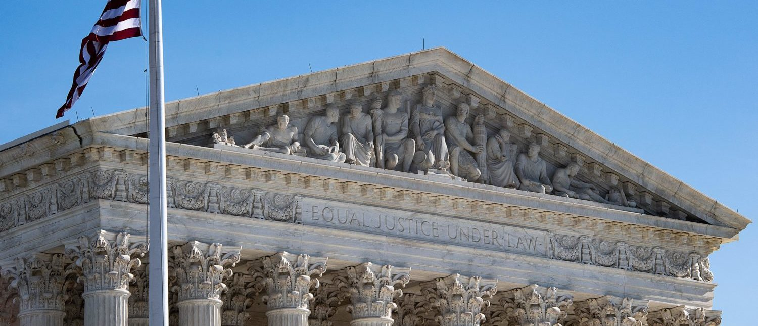 The Supreme Court in Washington, DC, on January 22, 2019. (Jim Watson/AFP/Getty Images)
