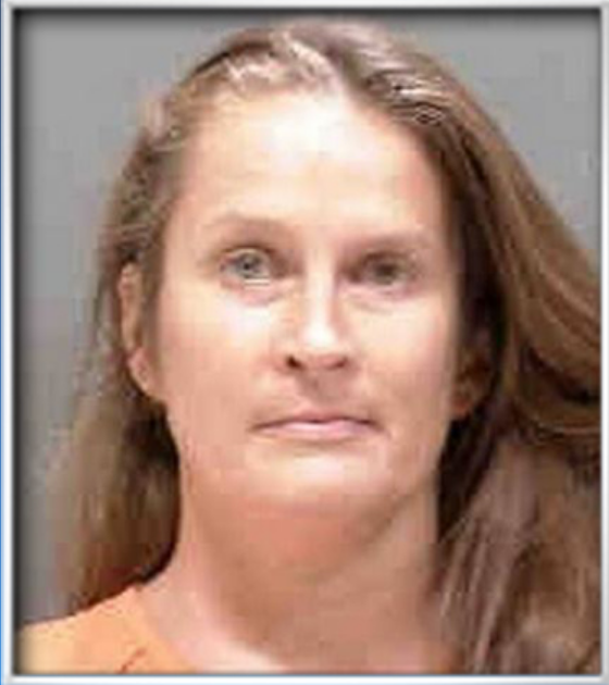 Pictured is Heather Carpenter. Screenshot/ Sarasota County Sheriff's Office