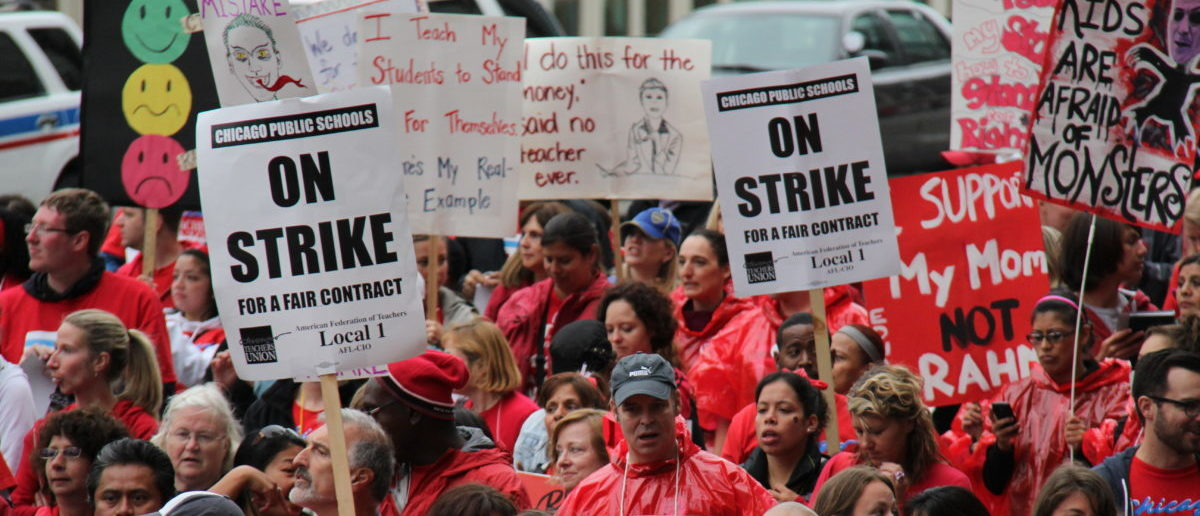 The Los Angeles Unified School District (LAUSD) is bracing for a massive teacher walkout scheduled for Jan. 10 by hiring hundreds of substitute teachers. SHUTTERSTOCK/Atomazul