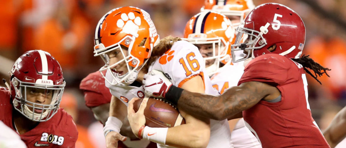 Sporting News Predicts Clemson Vs. Alabama National Title Game