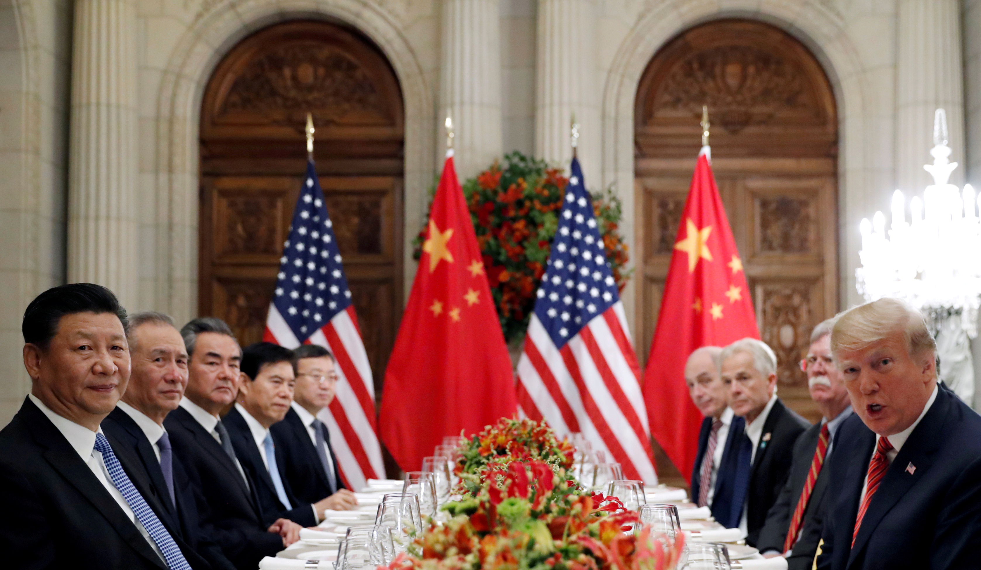 Donald Trump says US-China talks are 'going very well'