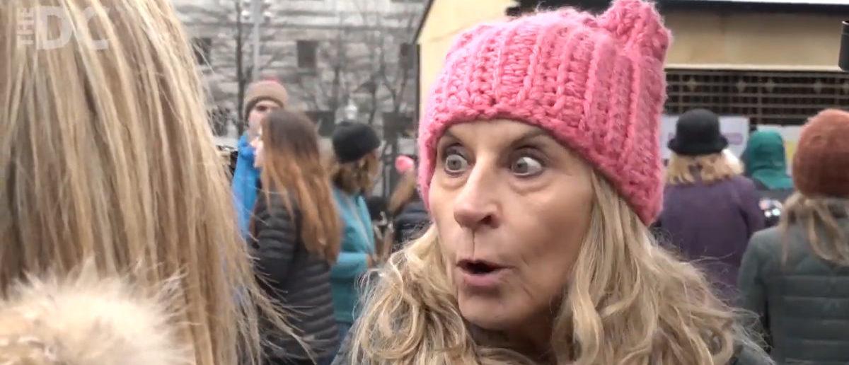 Women's March Washington D.C. (The Daily Caller)