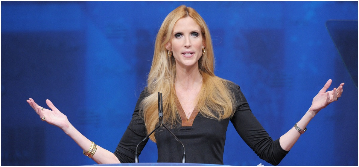Ann Coulter Goes Ballistic On Trump After Capitulation On Borer Wall (AFP PHOTO/Mandel NGAN)