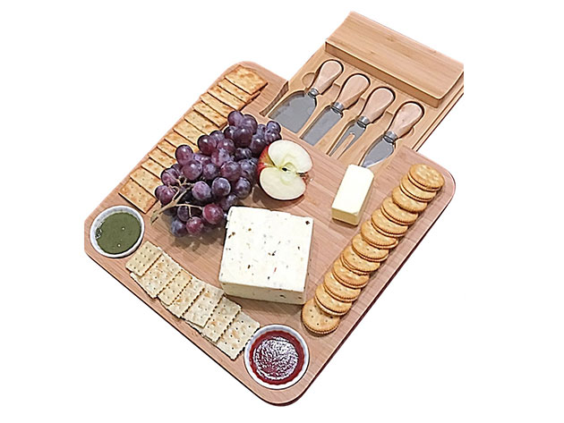 Normally $106, this cheese board set is 66 percent off