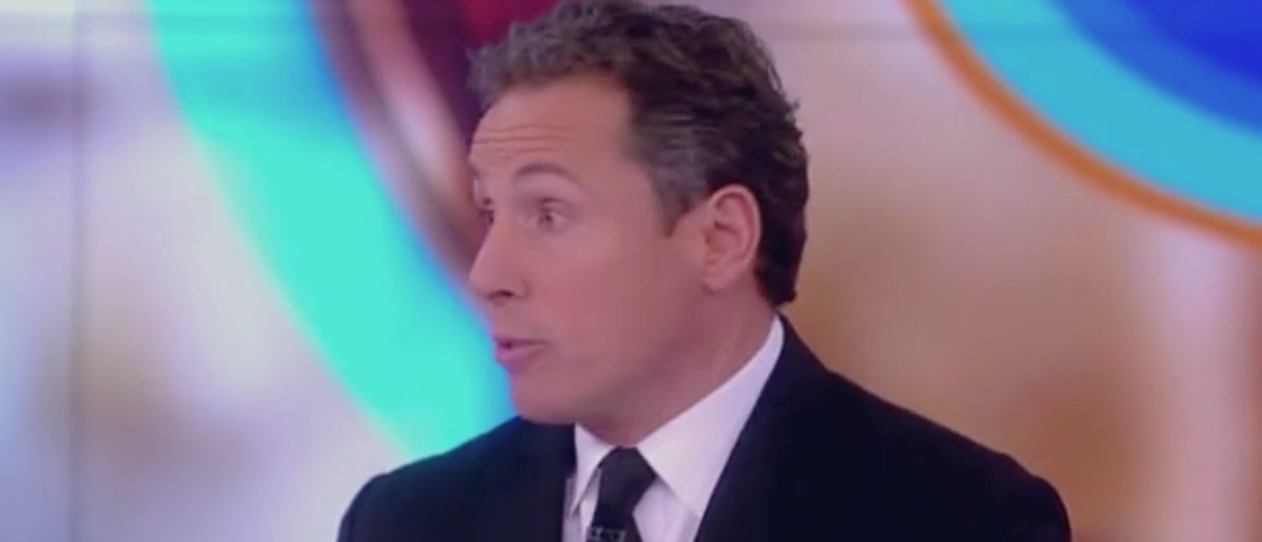 "CNN's Chris Cuomo appears on ABC's ""The View,"" 1/24/2019. Screen Shot/ABC"