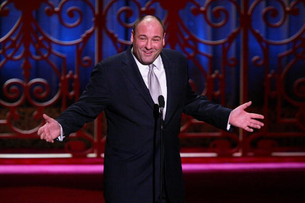 Actor James Gandolfini participates in the American Museum Of The Moving Image Salute To John Travolta at the Waldorf Astoria Hotel December 5, 2004 in New York City. (Photo by Matthew Peyton/Getty Images)