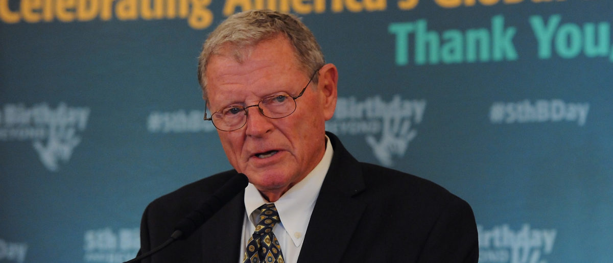 Jim Inhofe Rails Against Abortion With Bible Verses Ahead Of March For Life