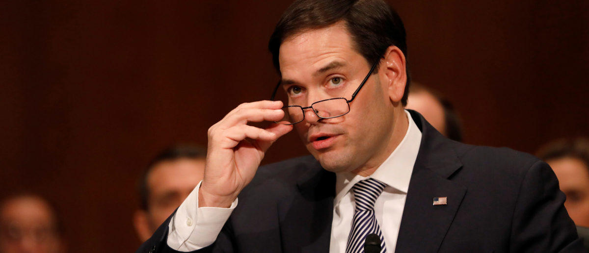 Rubio Makes Impassioned Plea For Secure Borders — Dings Obama, Hillary With Quick 'Correction'