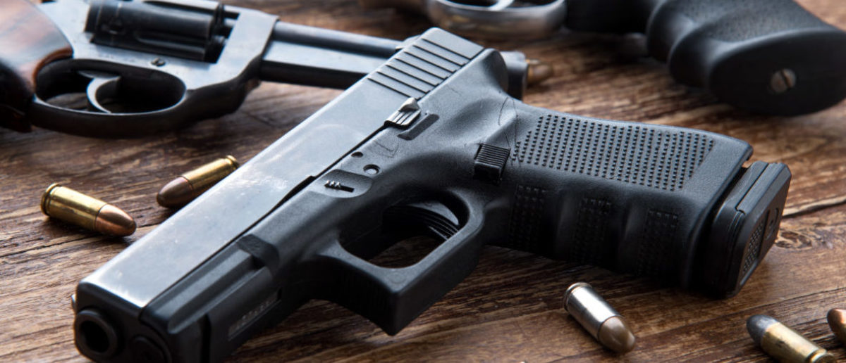 Gun ownership is on the rise across Europe, according to a Wall Street Journal report, which attributes the upturn in part to the increase in terrorist activity in the region as well as a general insecurity against rising crime. (Photo: Gun shutterstock_644244382)