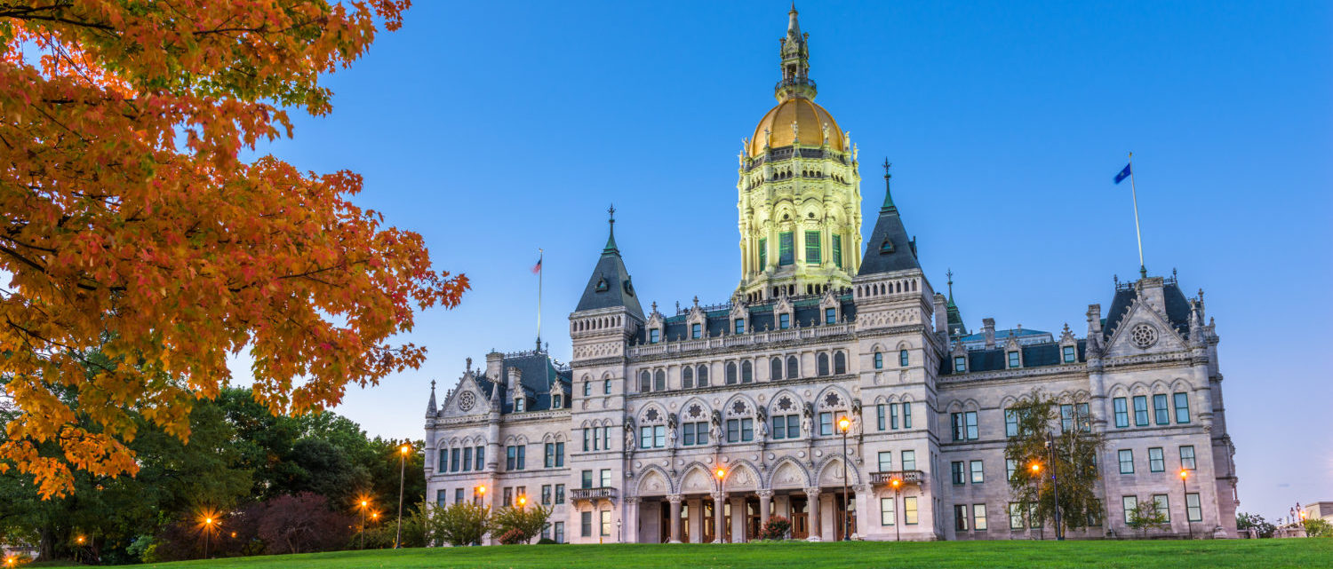 Connecticut State House in Hartford, CT (Sean Pavone/Shutterstock)