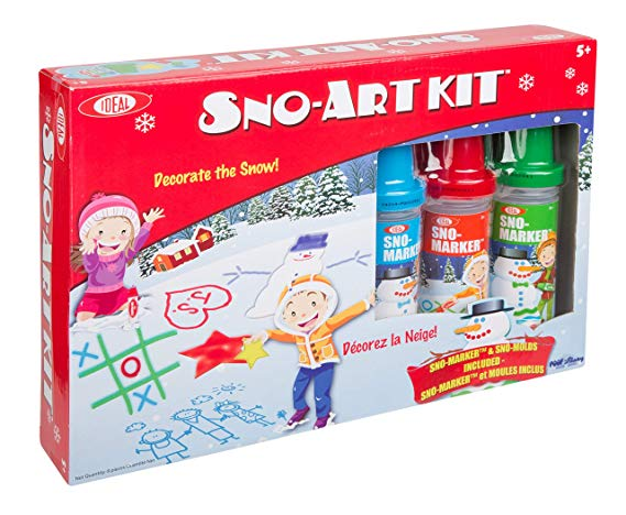 Normally $23, this Sno-Art kit is 7 percent off (Photo via Amazon)