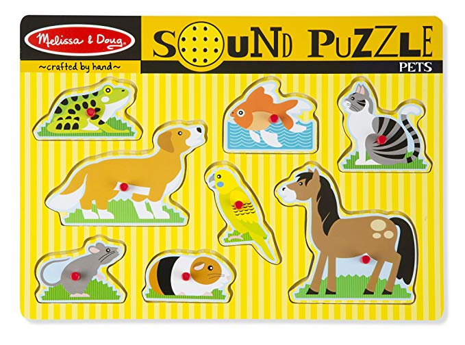 Normally $13, this pets puzzle is 39 percent off today (Photo via Amazon)