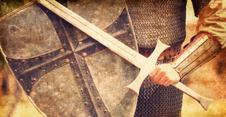 Sword fighting by Shutterstock.