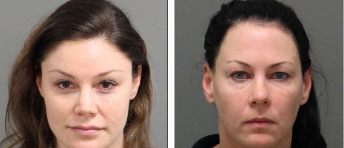 Amber Harrell and Jessica Fowler mugshots [Raleigh Police Department]