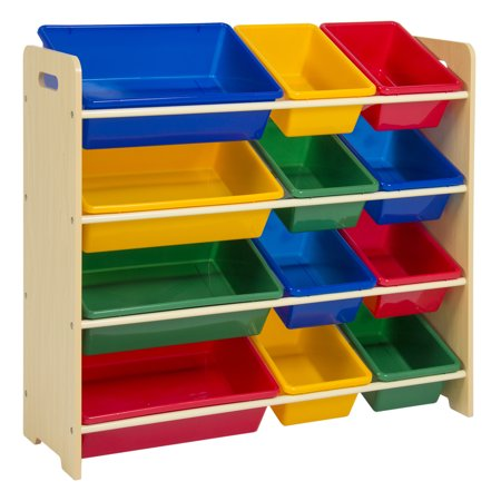 Normally $125, this toy storage rack is 60 percent off (Photo via Walmart)