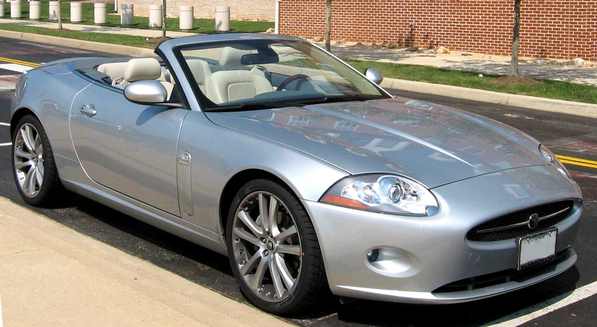 Rent a Jaguar luxury convertible or similar model for $150 a day (Photo via Google)