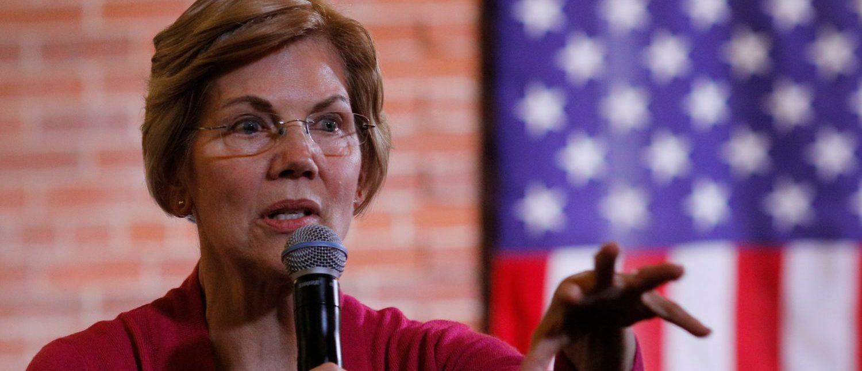 Potential 2020 U.S. Democratic presidential candidate and U.S. Senator Elizabeth Warren (D-MA) speaks at an Organizing Event in Claremont, New Hampshire, U.S., Jan. 18, 2019. REUTERS/Brian Snyder