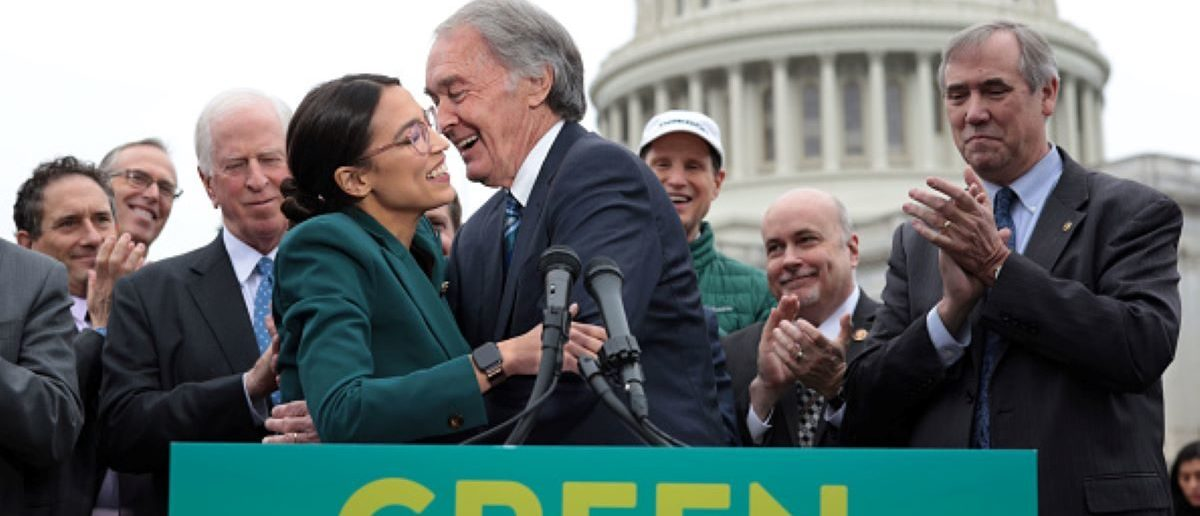 Green Energy Companies Aren't Backing The Green New Deal