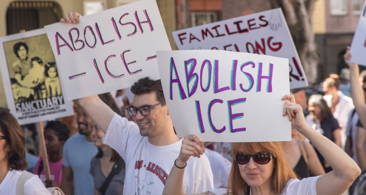 Abolish ICE. Shutterstock