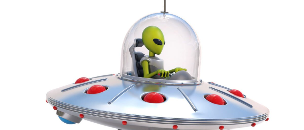 A Harvard professor believes a space object could be a spaceship. SHUTTERSTOCK/ koya979