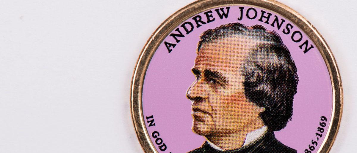 Andrew Johnson was the first U.S. president to get impeached. SHUTTERSTOCK/ Prachaya Roekdeethaweesab
