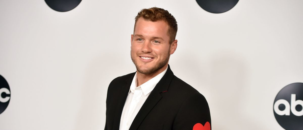 Colton Underwood from Bachelor in Paradise attends the Disney ABC Television TCA Summer Press Tour, August 7, 2018 at the Beverly Hilton Hotel in Beverly Hills, California. (Photo credit: ROBYN BECK/AFP/Getty Images)