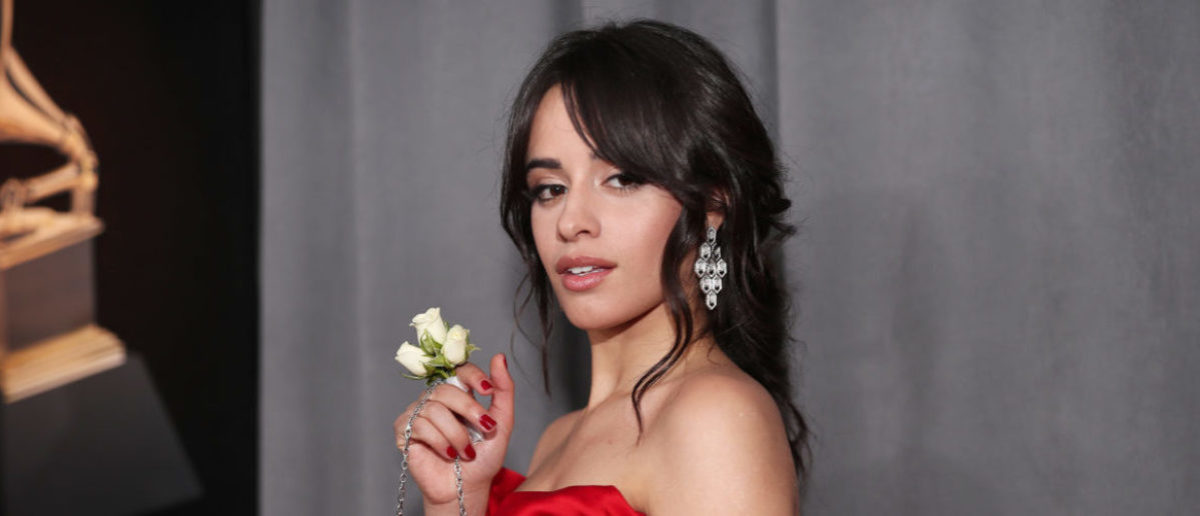Recording artists Camila Cabello attends the 60th Annual GRAMMY Awards at Madison Square Garden on January 28, 2018 in New York City. (Photo by Christopher Polk/Getty Images for NARAS)