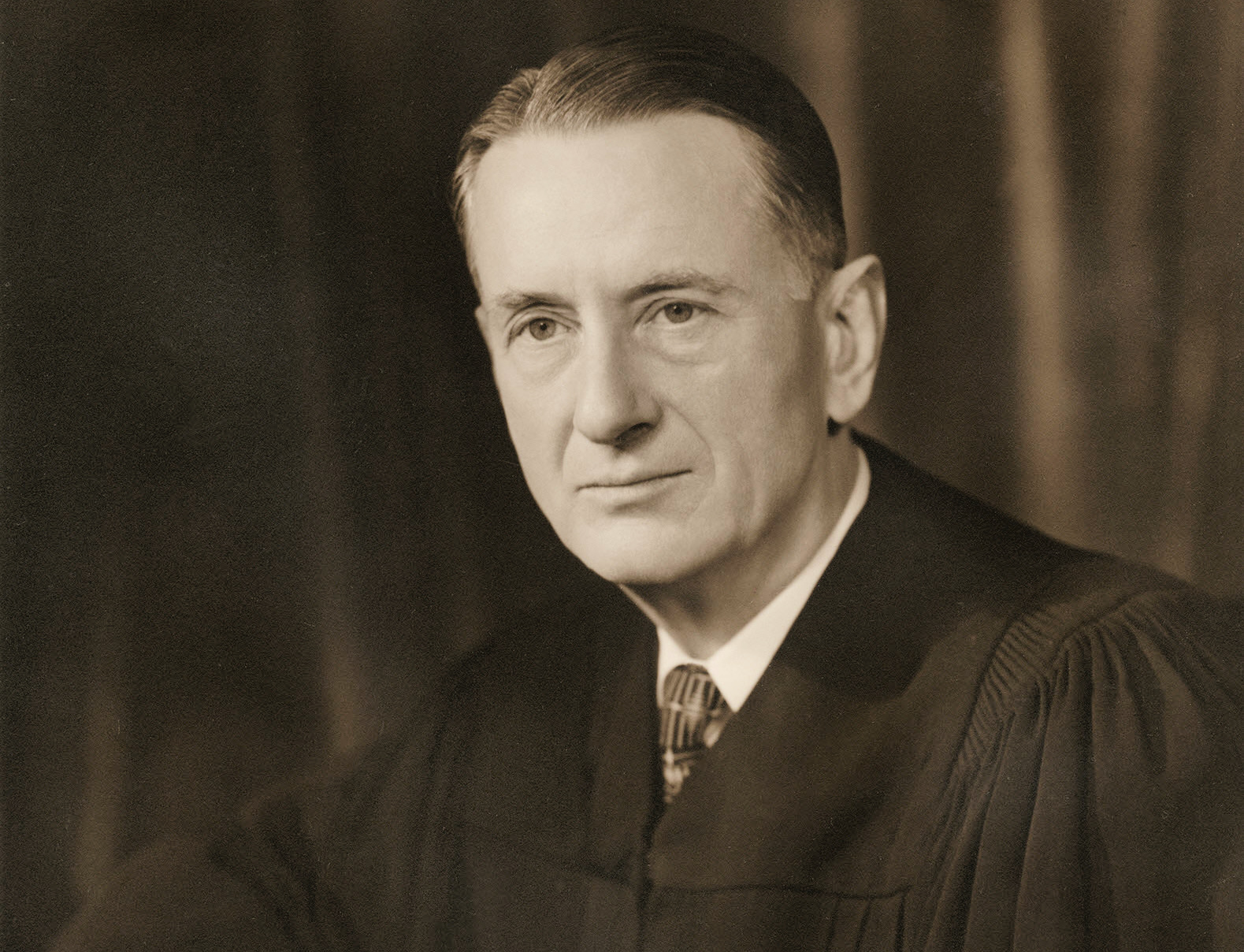 Justice Charles Whitaker in April 1957. (Photograph by Abdon Daoud Ackad, Collection of the Supreme Court of the United States)