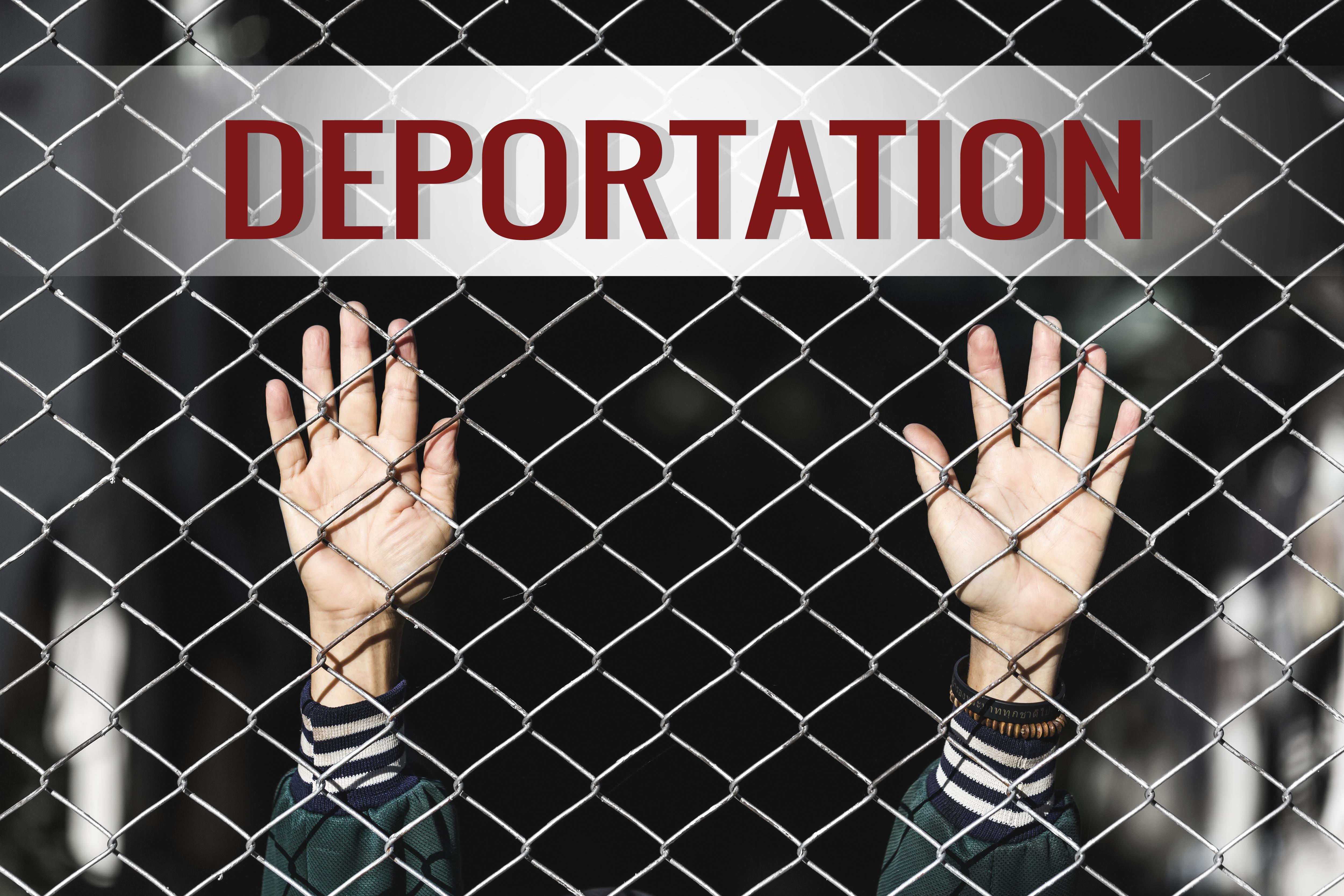 Deportation. Shutterstock