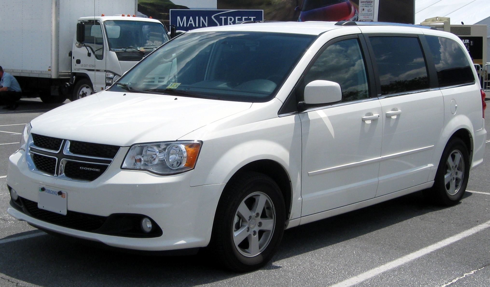 Rent a Dodge Caravan or similar model for $40 a day (Photo via Google)