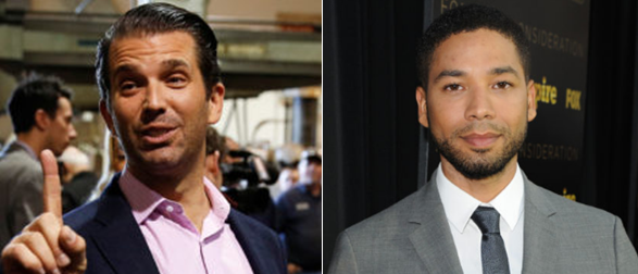 Donald Trump Jr., Others Slam Jussie Smollett, Media Coverage Surrounding Alleged Trump Supporter Hate Crime