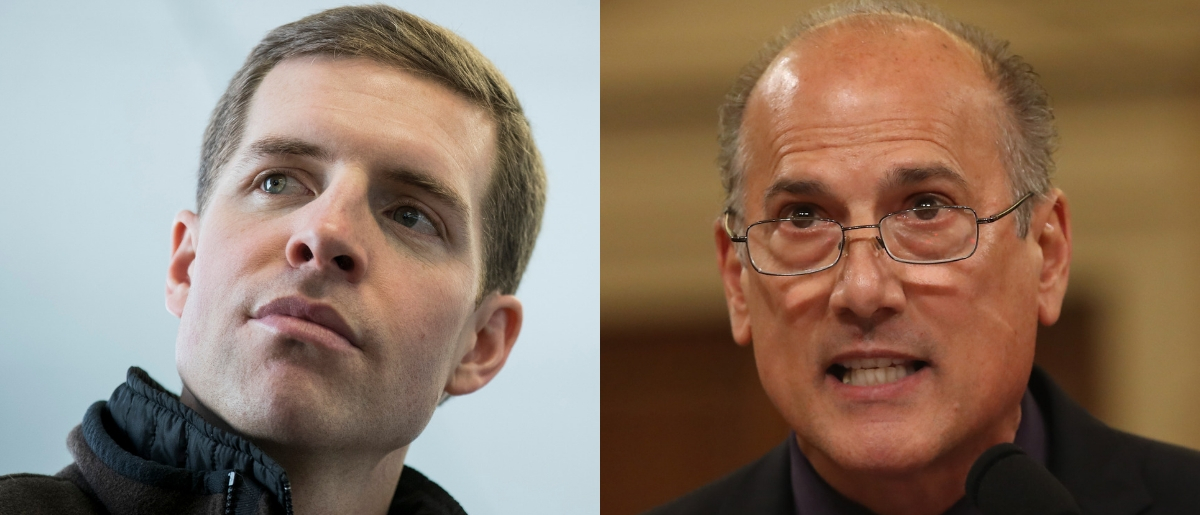 Will the race to replace former Republican Pennsylvania Rep. Tom Marino (R) mirror the special election camapaign of Democratic Pennsylvania Rep. Conor Lamb (L)? Drew Angerer/Getty Images and Mark Wilson/Getty Images